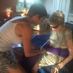 Using Fabric Wraps to Help Someone in Severe Pain